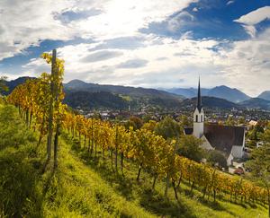 Röthis, Vorarlberg, Bergland