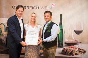 Weingut Adam-Lieleg, Präsident des österreichischen Weinbauverbandes NR Hannes Schmuckenschlager