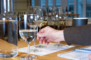 Glas, white wine