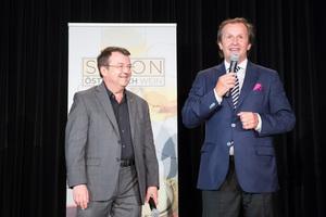 SALON Casino Baden 2016 - Geschäftsfüher ÖWM Willi Klinger und Leiter Food&Beverage Casinos Austria Oliver Kitz