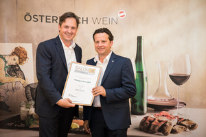 Weingut Benedikt, Präsident des österreichischen Weinbauverbandes NR Hannes Schmuckenschlager