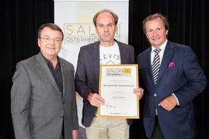 Winzerkeller Neckenmarkt, links: Geschäftsführer ÖWM Willi Klinger, rechts: Leiter Food & Beverage Casinos Austria Oliver Kitz