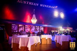 Österreich Wein Stand bei der Best of Swiss Gastro Award Night