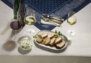 Kalbsnierenbraten mit Weißwein & Rotwein