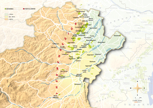 Topografische Karte Thermenregion