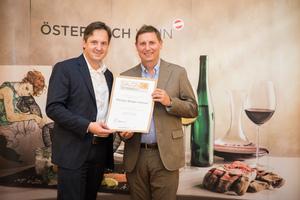 Weingut Biegler Othmar, Präsident des österreichischen Weinbauverbandes NR Hannes Schmuckenschlager