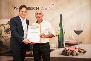 Weingut Hans Gangl, Präsident des österreichischen Weinbauverbandes NR Hannes Schmuckenschlager
