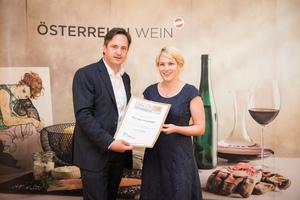 Weingut Steininger, Präsident des österreichischen Weinbauverbandes NR Hannes Schmuckenschlager