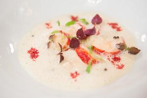 SALON Gala Dinner 2012 - Hummermedaillons an Verveine
