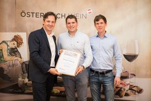 Weingut Kolkmann, Präsident des österreichischen Weinbauverbandes NR Hannes Schmuckenschlager