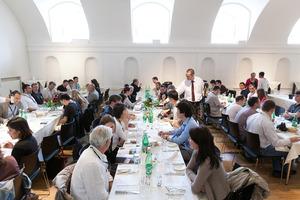 Weingipfel 2011 Discover Wine Wonderland Austria - Lunch with Specialities from Burgenland, Schloss Esterhazy