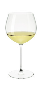 White wine Riedel Glass filled