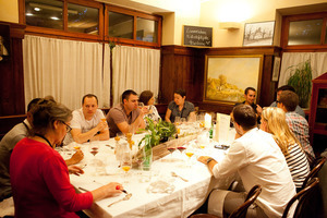 Weingipfel 2011 Discover Wine Wonderland Austria - Pannonian Dinner with wines from Burgenland, Restaurant Nyikospark