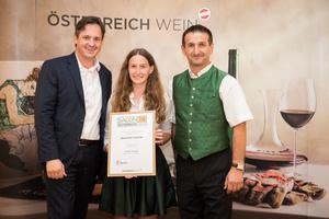 Weingut Leitner, Präsident des österreichischen Weinbauverbandes NR Hannes Schmuckenschlager