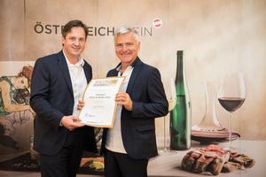 Weingut Erich und Walter Polz, Präsident des österreichischen Weinbauverbandes NR Hannes Schmuckenschlager