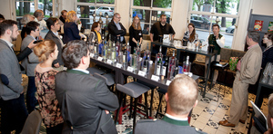 """Weingipfel 2017 - Montag 8. Mai, Casual Get-together with Open Wine Tasting """"Diversity from Weststeiermark"""", Café Promenade in the Old-town of Graz"""