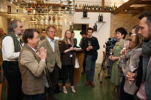 "Weingipfel 2017: Magnum Night with ""Wines from Südsteiermark"" Presented by: Willi Klinger (Managing Director of AWMB), Magnothek, Zieregg"