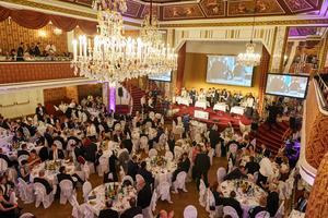 """Weingipfel 2017: """"Contest of the Best Sommelier of Europe & Africa 2017, Vienna"""" and Gala Dinner, Ballroom Austria Trend Parkhotel Schönbrunn, Vienna"""