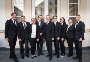 SALON 2017 Gala Dinner, Palais Niederösterreich, 13. Juni 2017 - Sommelier Team