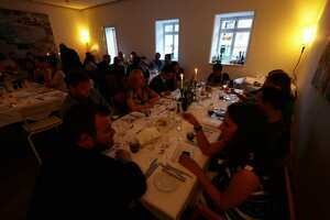 Weingipfel 2015 - Gourmet Dinner with top wines from Burgenland, Presented by: Brad Knowles, President of the Burgenland Sommelier Association, Gut Purbach, Purbach