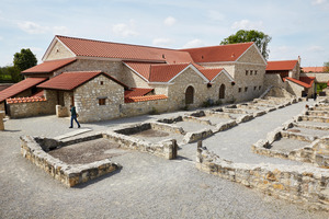 "Weingipfel 2017: Visit of Roman city Carnuntum and the splendid city mansion ""villa urbana"", Petronell-Carnuntum"