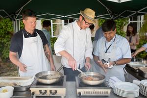 Weingipfel 2015 - Cookery Course: Let's Cook Wiener Schnitzel! Accompanied by WEINVIERTEL DAC, Schloss Schrattenthal, Retz, Weinviertel