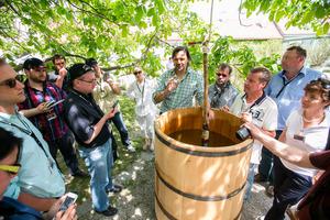 """Weingipfel 2015 - Workshop zum Thema """"Bio und Biodynamie"""" präsentiert von: Wagramer Bio-Winzer, Gut Oberstockstall, Kirchberg am Wagram"""