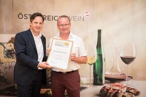 Weingut D&D Haider, Präsident des österreichischen Weinbauverbandes NR Hannes Schmuckenschlager