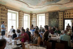 Weingipfel 2011 Niederösterreich - Comparative Riesling Masterclass: Austria – Germany - Alsace, Kellerschlössel in Dürnstein