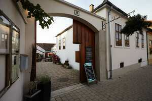 """Weingipfel 2015 - Dinner at a traditional wine tavern with traditional wines and sweet wine tasting """"Burgenland's Liquid Gold"""", Presented by local winegrowers, Weingut & Buschenschank Georg Seiler, Rust"""