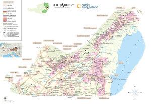Riedenkarte Thermenregion (Stand 2014)