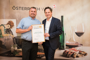 Weingut Strudler Johannes und Klaudia, Präsident des österreichischen Weinbauverbandes NR Hannes Schmuckenschlager