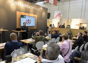 ProWein 2019, Seminar Austrian Wine Update mit Willi Klinger