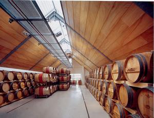 Mittelburgenland, Moderner Weinkeller