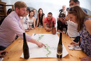 Weingipfel 2011 Discover Wine Wonderland Austria - Short walk through a single vineyard