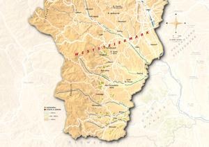 Topografische Karte Weststeiermark