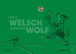 Freecard/Cartoon: Welschwolf