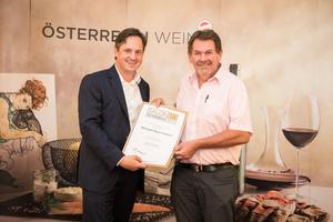 Weingut Bayer-Erbhof, Präsident des österreichischen Weinbauverbandes NR Hannes Schmuckenschlager