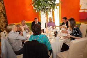 """Weingipfel 2015 - Luncheon at Schloss Ottersbach, Introduction to """"Morillon/Chardonnay – Weißburgunder/Pinot Blanc"""", Presented by: Luzia Schrampf, Schloss Ottersbach, Großklein, Südsteiermark"""
