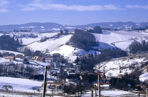 Impressionen Südsteiermark im Winter