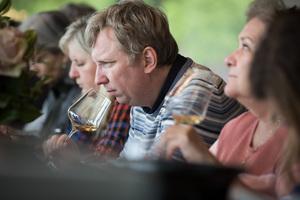 Weingipfel 2017: Outdoor Tasting of southern Kremstal wines at Riede Eichbühel, Winery Müller, Krustetten