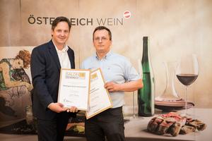 Weingut Stich-Gaismayer, Präsident des österreichischen Weinbauverbandes NR Hannes Schmuckenschlager