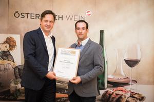 Weingut Fautschek-Hofinger, Präsident des österreichischen Weinbauverbandes NR Hannes Schmuckenschlager