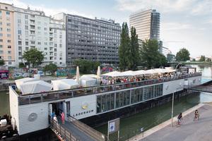 VieVinum 2014 - Gemütliches Get together am Badeschiff Wien, 12. 6. 2014