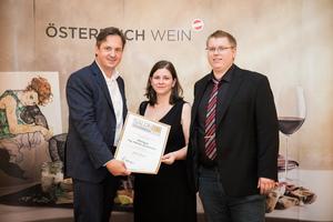 Weingut Ing. Martin Schwinner, Präsident des österreichischen Weinbauverbandes NR Hannes Schmuckenschlager