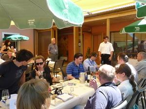 Weingipfel 2011 Steiermark & Thermenregion - Einkehr in der Buschenschank