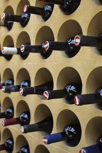 Weinregal Flaschen