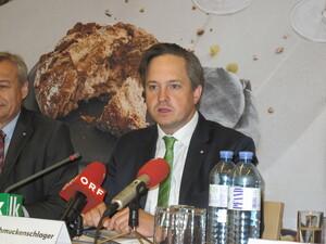 NR Johannes Schmuckenschlager, Präsident des Österreichischen Weinbauverbandes