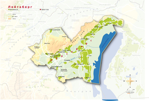 Topografische Karte Leithaberg russisch