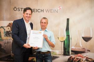 Weingut Berger Familie, Präsident des österreichischen Weinbauverbandes NR Hannes Schmuckenschlager